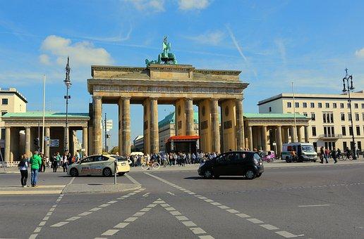 Berlin, Brandenburg Gate, Landmark, Quadriga