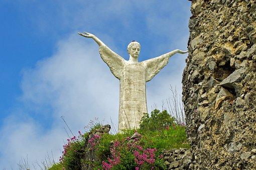 Maratea, Christ Maratea, Statue Of The Redeemer, Savior