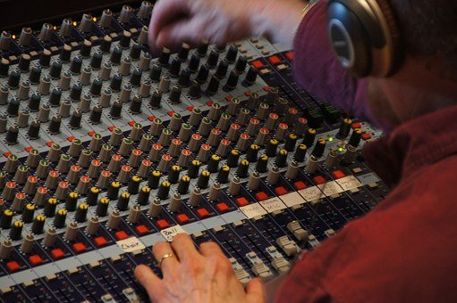 Sound Studio, Mixer, Fader, Edit, Sound, Music, Audio