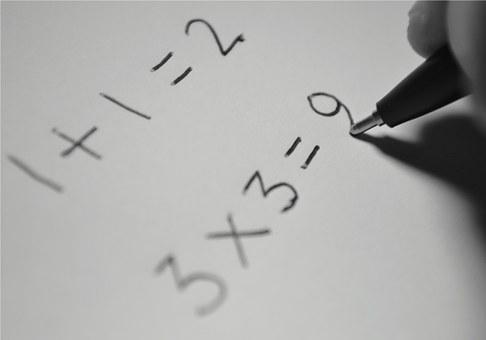 Math, Number, School, Symbol, Education, Text
