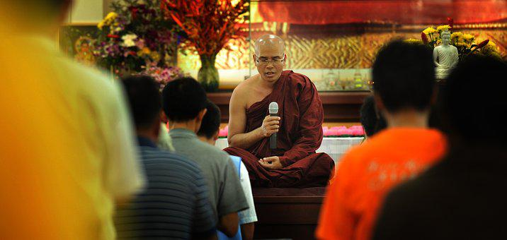 Theravada Buddhism, Monk Blessing, Blessing, Buddhism