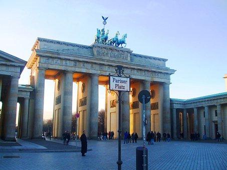 Tor Brandenburguer, Brandenburg Gate, Berlin, Germany