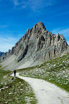 Trail, Mountain, Summer, Excursion, Nature, Rocks