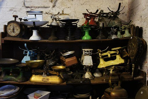 Balance, Scale, Weighing Scale, Justice, Junk, Vintage