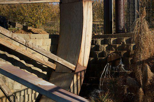 Water, Mill, Wheel, Nature, Old, Watermill