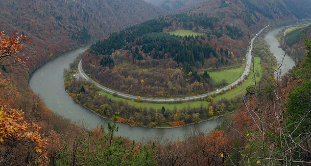 Meander, Fatra, Slovakia, River, Weighing Scales