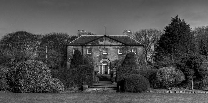 Backworth Hall, Northumberland, Uk, House, Manson