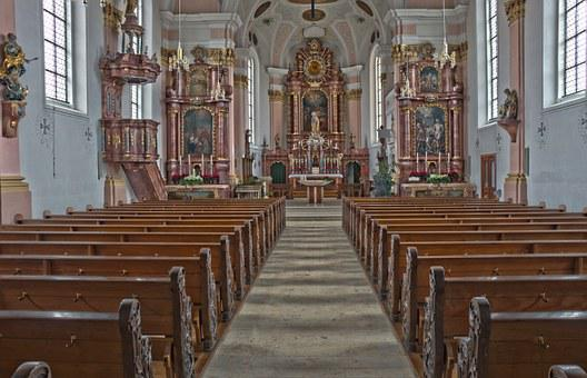 Church, Baroque, Hdr, Baroque Church, Baroque Style