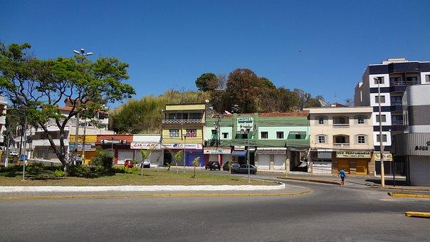 Itajubá, Minas, Brazil, Square, Street