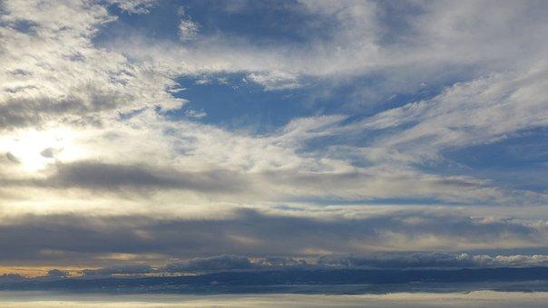 Sky, Clouds, Context, Sunlight