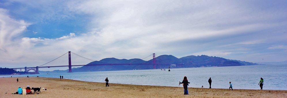Crissy Park, San Francisco, California, Sky, Clouds