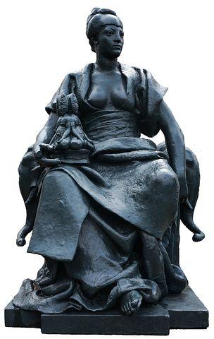 Paris, Statue, Art, Fig, Museum, Metal, Woman, Elephant