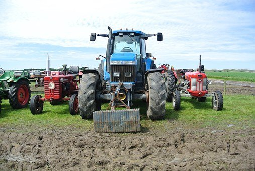 Tractor, Oldtimer, Agriculture, Tractors, Farm, Arable