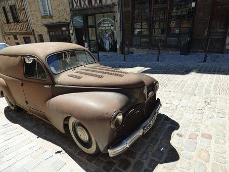 Oldsmobile, Car, Automobile, Vintage, Retro, Vehicle