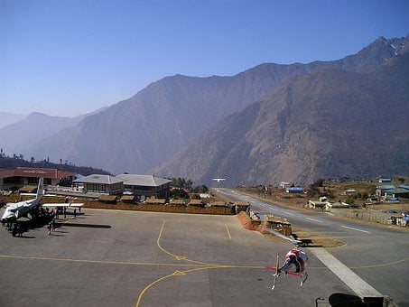 Nepal, Airport, Lukla, Everest, Trek