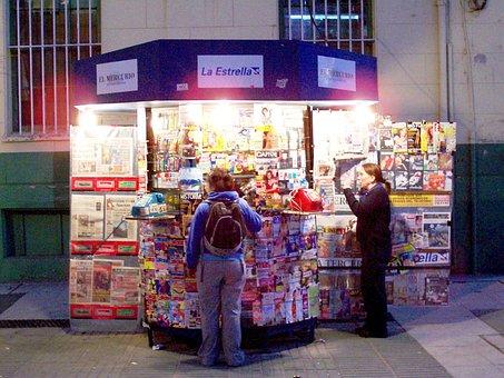 Newsstand, Valparaiso, Chile