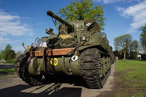Tank, Rubsvoertuig, Vehicle, Liberation