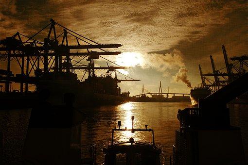 Port, Hamburg, Waltershof