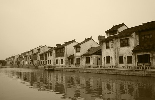 Wuxi, Qingming Bridge, The Scenery, Watertown