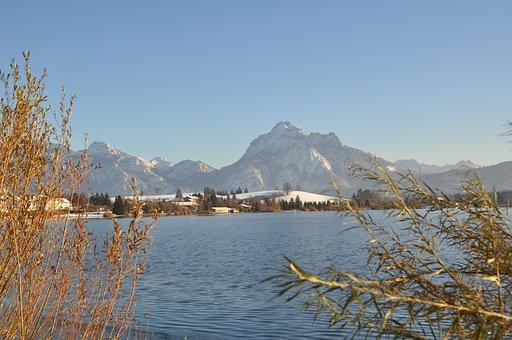 Allgäu, Lake, Säuling