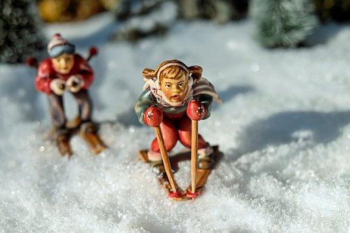 Skiing, Backcountry Skiiing, Winter, Skiers, Fig