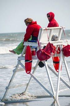 Beach, Beach Chair, Lifeguard, Vacation, Sand, Chair