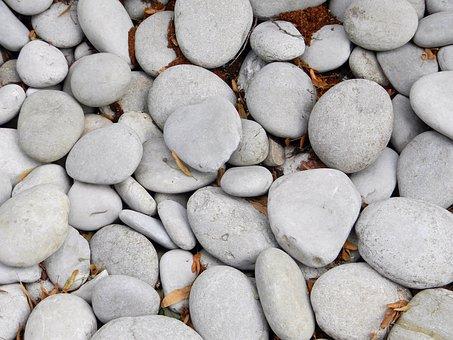Stones, Grey Stones, Pebbles, Big Stone, Stone