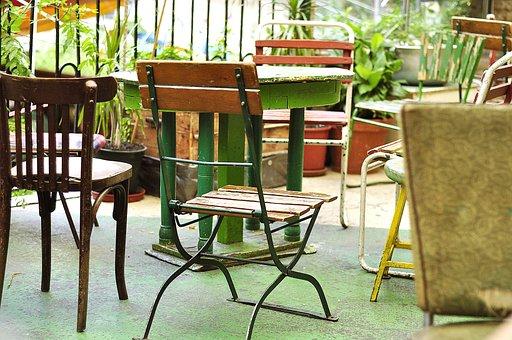 Bar, Cafe, Chair, Ruinpub