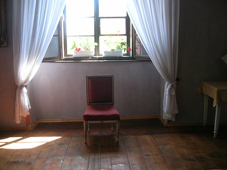 Castle Windows, Outlook, Window With Chair