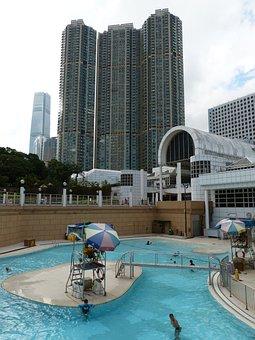 Hong Kong, China, Kowloon, Skyscraper, City, Big City