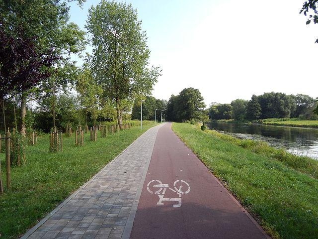 Cycle Route, Cycling Road, Way, Alley