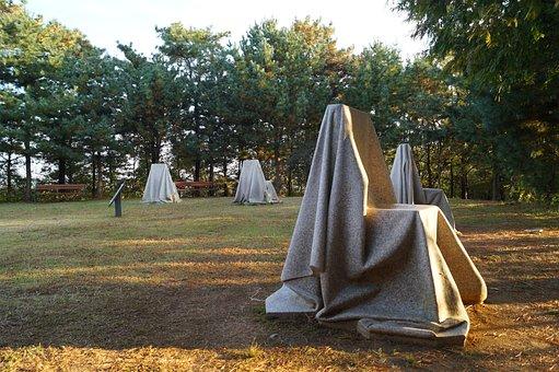 Gimpo Sculpture Park, Statue, Chair