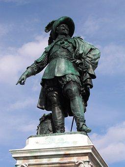 Gustav Adolf, Gothenburg, Monument, Sweden, Marketplace