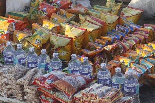 Eatables, Vendor, India, Eatable, Healthy, Nutritious
