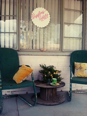 Terrace, Chairs, Outdoors, Porch, Visit, Coffee