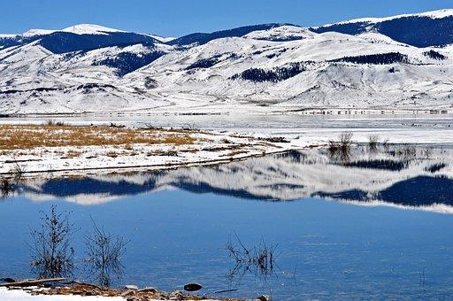 Clark Canyon, Montana, Landscape, Scenic, Lake, Pond