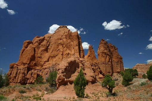 Kodachrome Valley, Utah, Rocks, Nature, Landscape