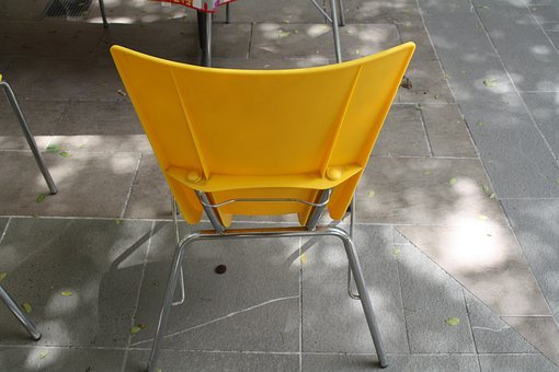 Chair, Yellow, Back, Furniture, Seat, Seating, Sit