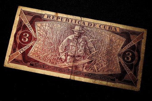 Dollar Bill, Che Guevara, Money, Banknote, Tres Pesos