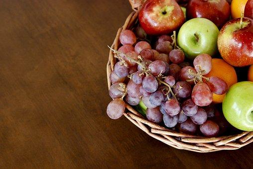 Uva, Mace, Fruit Basket