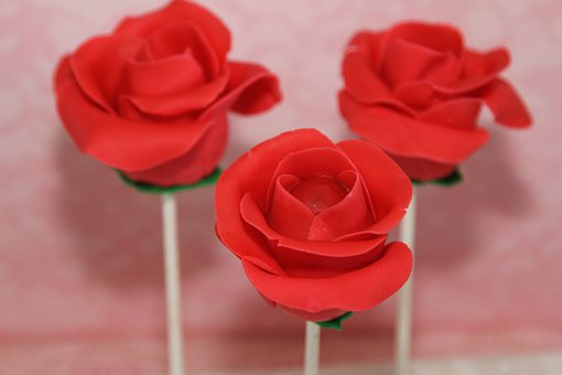 Roses, Cake Pops, Flower, Decoration, Cakes, Bake, Food