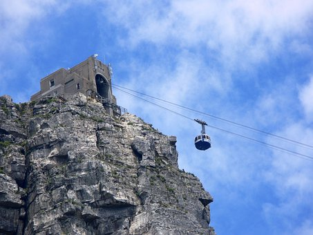 Cable Car, Cableway, Cape Town, South Africa, Cable