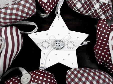 Christmas, Star, Ornament, Christmas Tree Ornaments