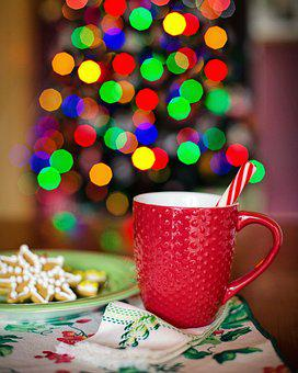 Hot Chocolate, Christmas, Christmas Tree