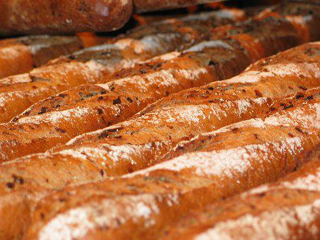Baguette, Bread, Baked Goods, Food, Delicious, Eat