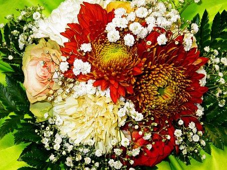 Bouquet, Flowers, Bouquet Of Flowers, Vase, Bouquets