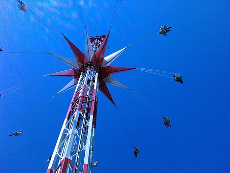Kettenkarrussel, Karrussel, Palatine Park, High, Fly