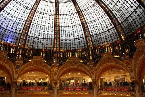 Gallery Lafayette, Paris, Purchasing, Shopping