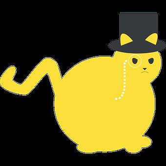 Cat, Fat Cat, Rich, Animal, Kitten, Fat, Feline, Pet