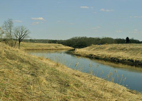River, Dubna, Zât′kovo